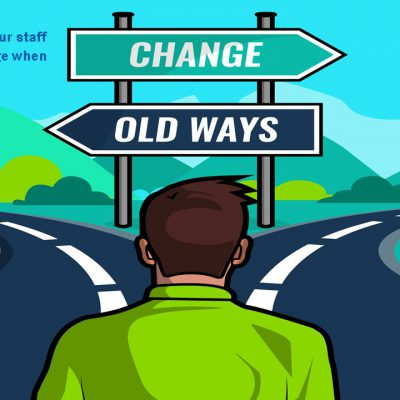 Leading through change – How to deal effectively with the inevitable changes of a fast paced landscape