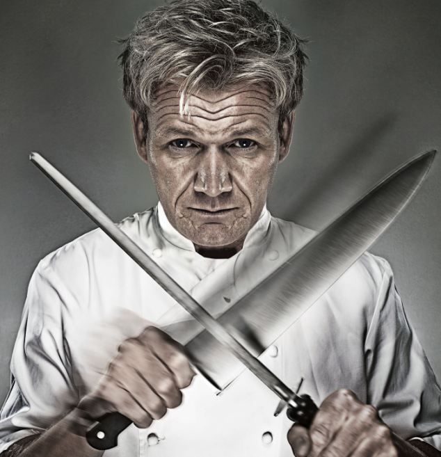 would you pass the gordon ramsay test get the edge